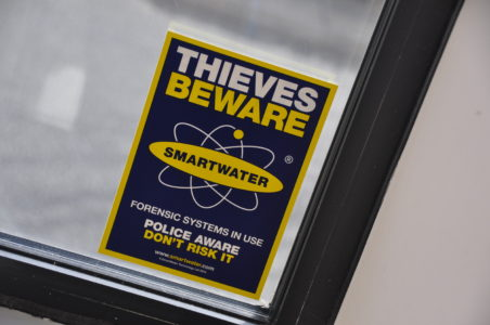 Distinctive warning signs are displayed throughout Museum, Gallery or around site.